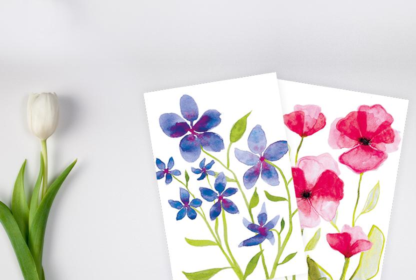 Blumen-Motive