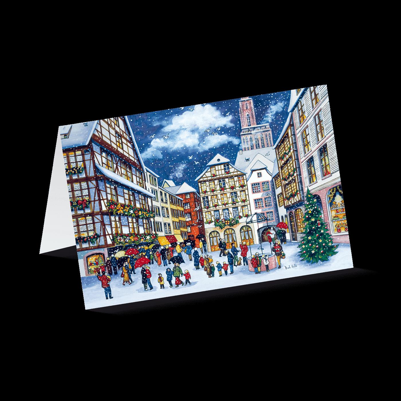 Weihnachten in der Stadt