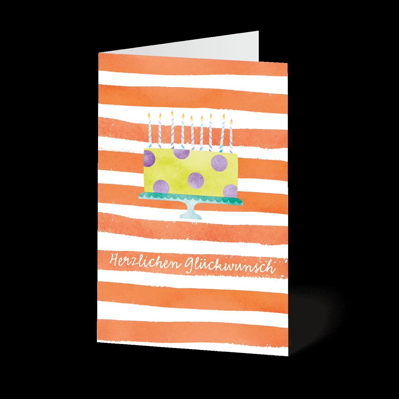 Minikarten Geburtstagsgrüße
