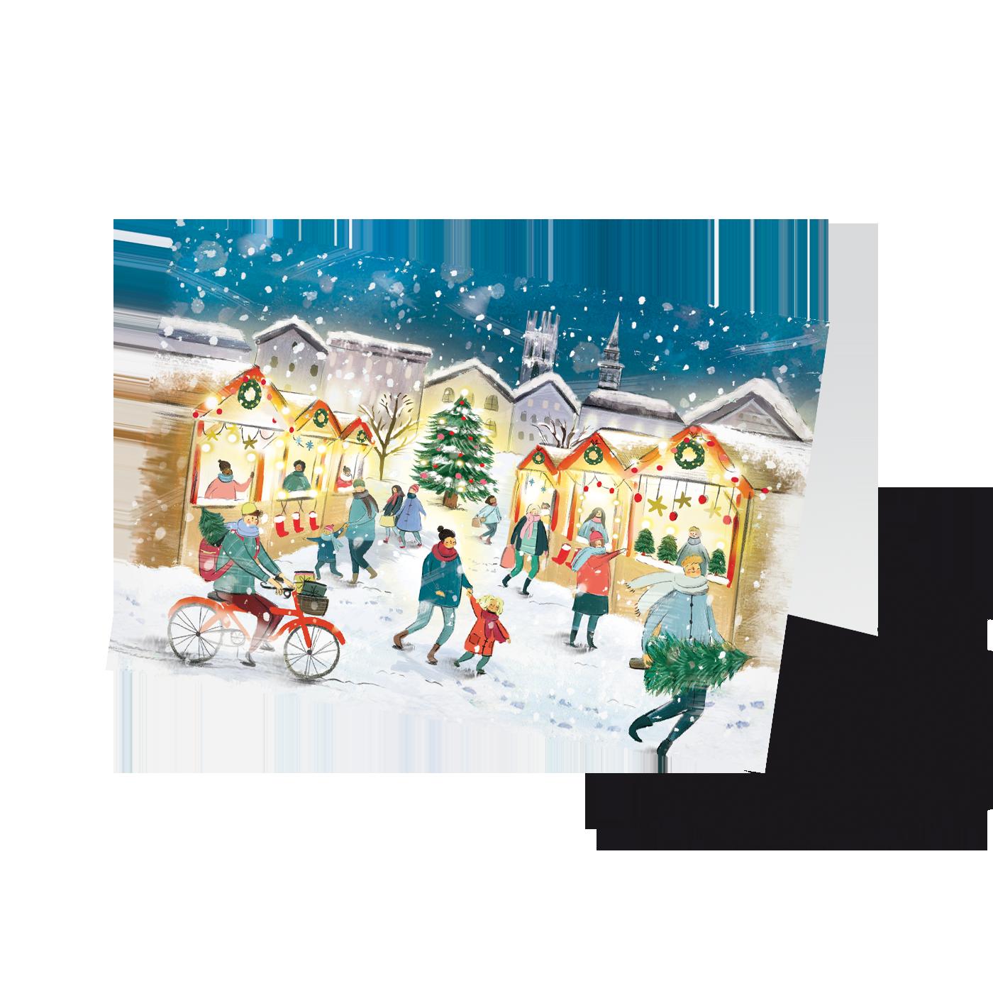 Weihnachten im Städtchen