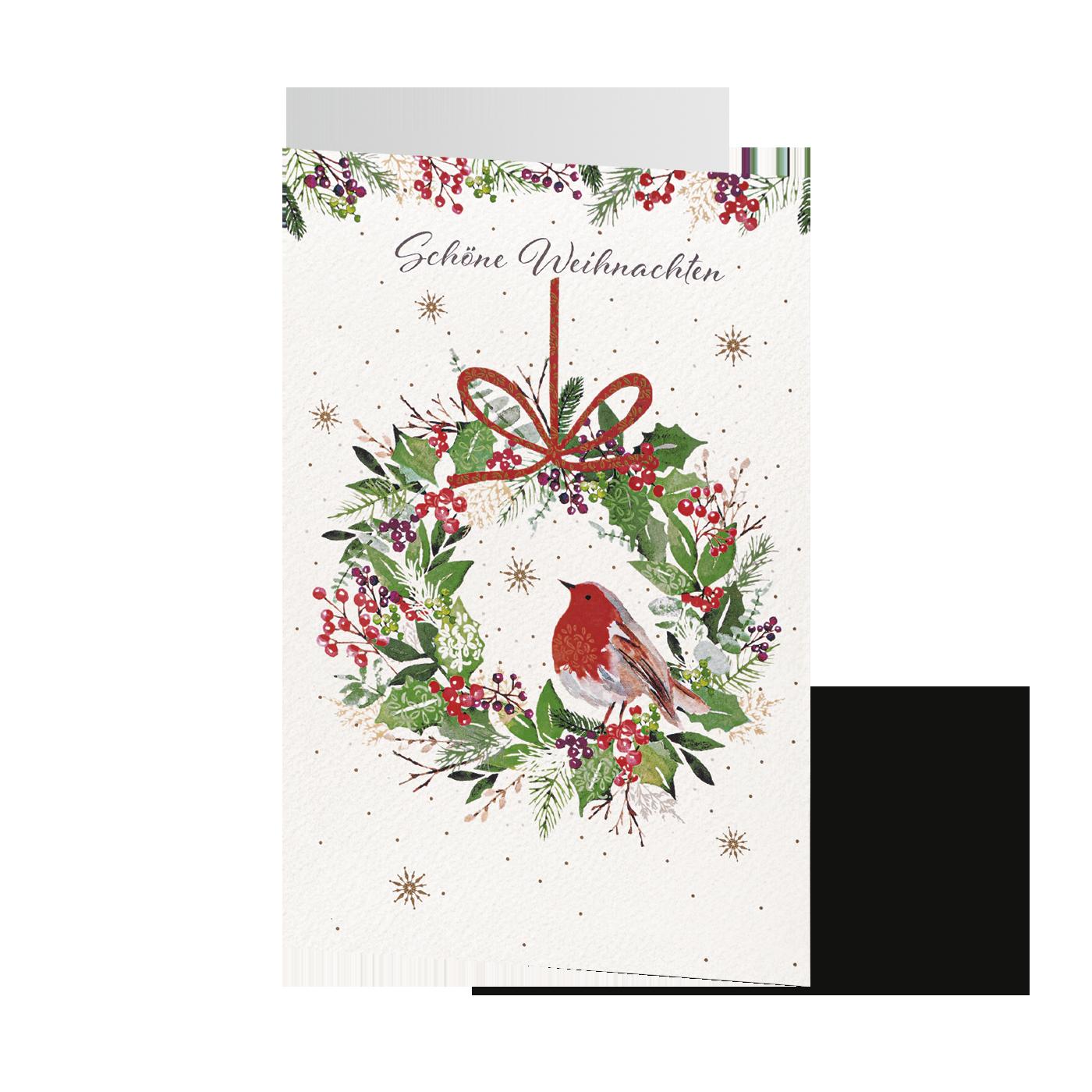 Blumiges Weihnachtsgrün