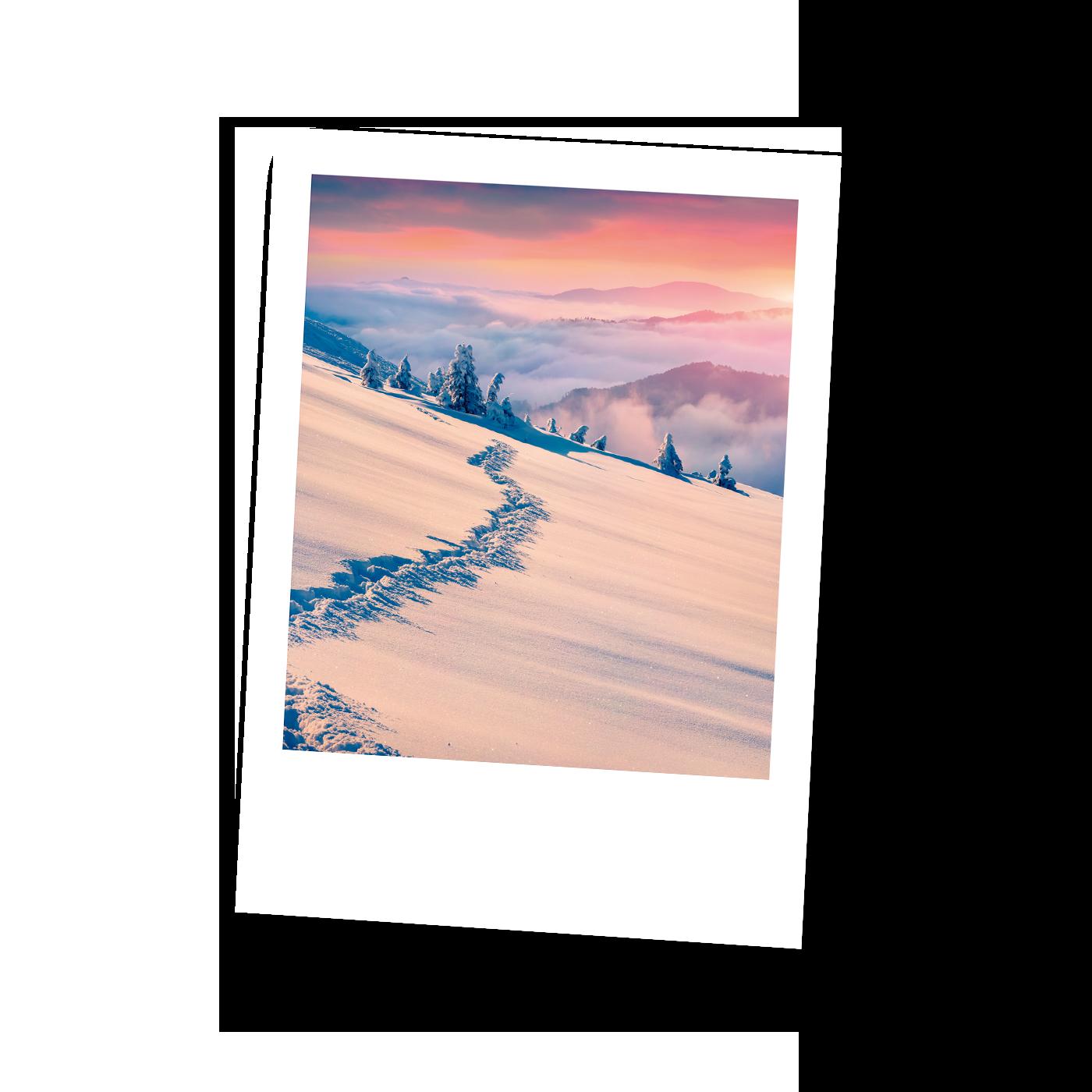 Postkarten Zauberhaftes Lichtspiel
