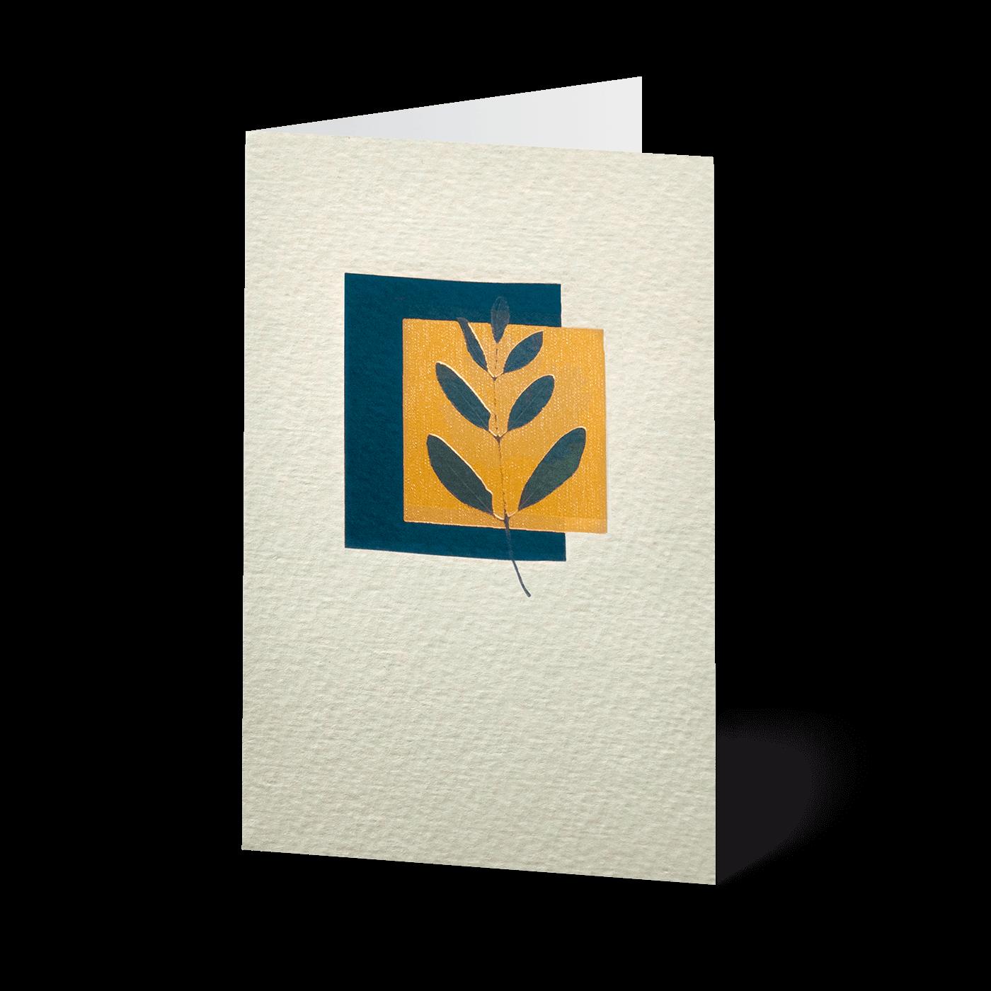 Minikarten Edle Blätter