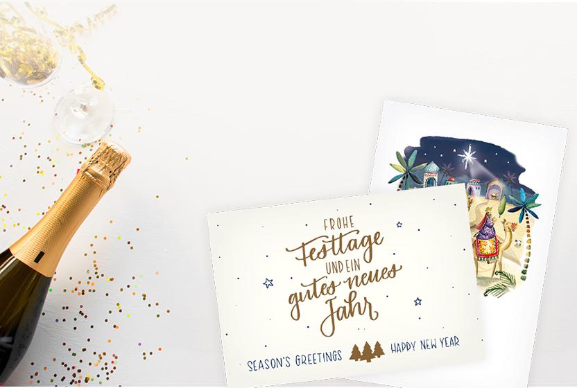 Neujahrskarten
