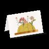 Minikarten Elegante Grüße