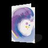 Minikarten Abstraktes Farbspiel