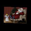 Postkarten Grüße vom Weihnachtsmann