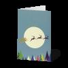 Minikarten Weihnachten in Pastell